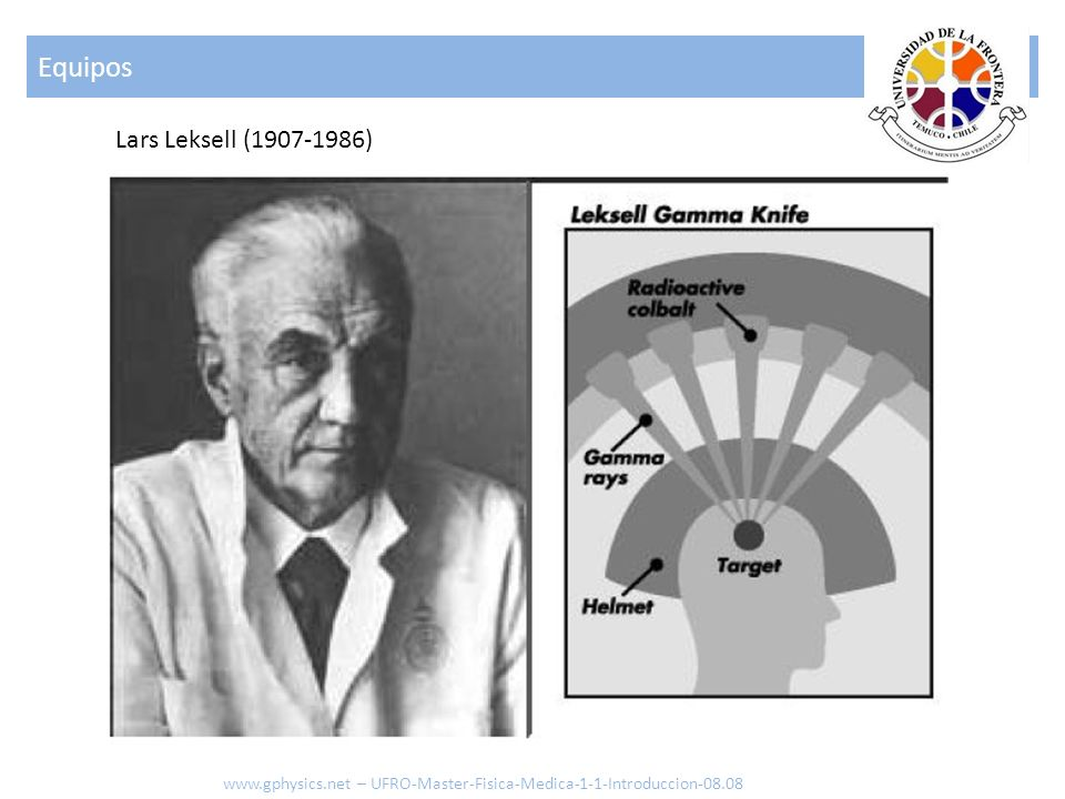 Equipos Lars Leksell (1907-1986)