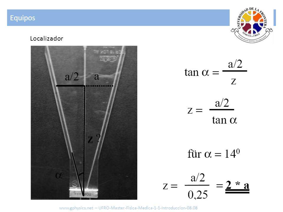Equipos Localizador www.gphysics.net – UFRO-Master-Fisica-Medica-1-1-Introduccion-08.08