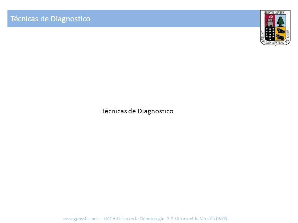 Técnicas de Diagnostico