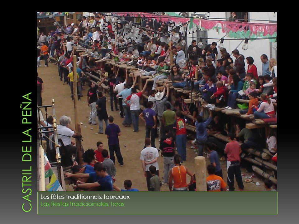 Castril de la peña Les fêtes traditionnels: taureaux