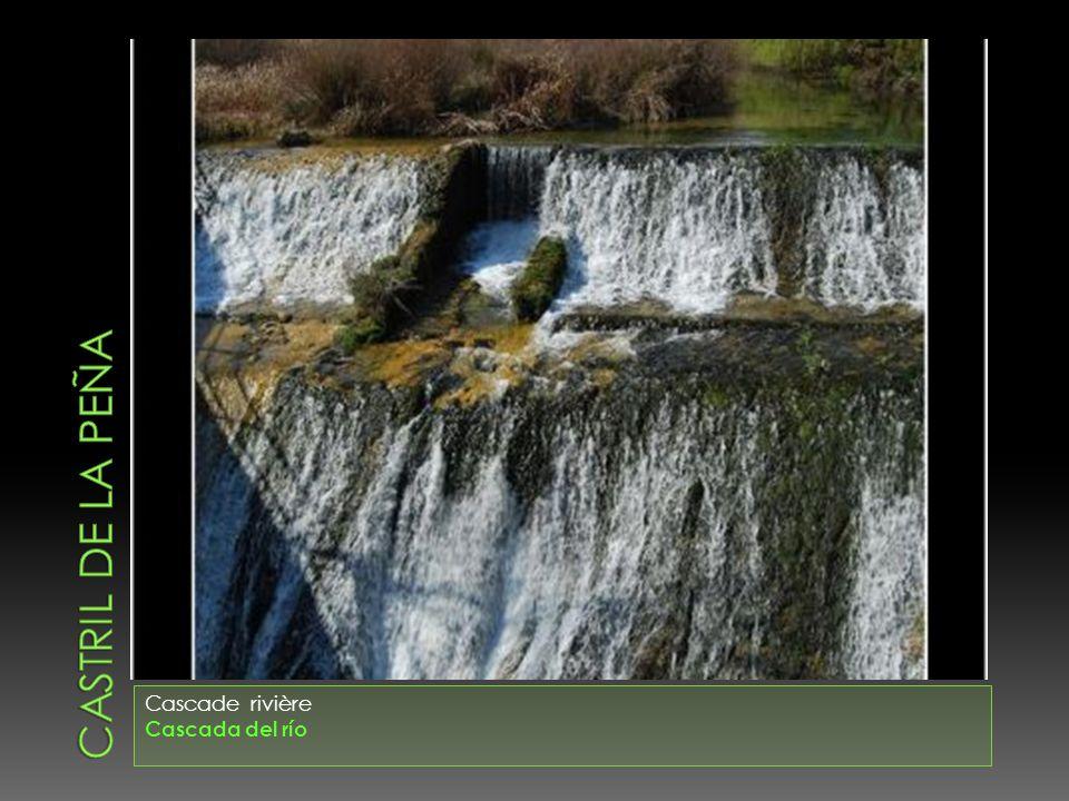CASTRIL DE LA PEÑA Cascade rivière Cascada del río
