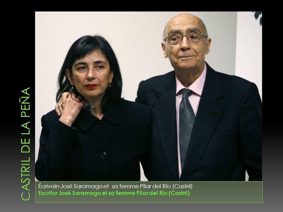 Castril de la peña Écrivain José Saramago et sa femme Pilar del Río (Castril) Escritor José Saramago et sa femme Pilar del Río (Castril)