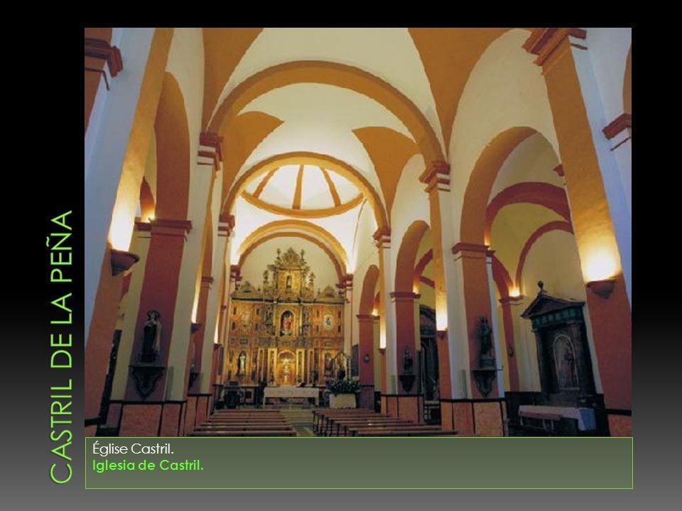 Castril de la peña Église Castril. Iglesia de Castril.