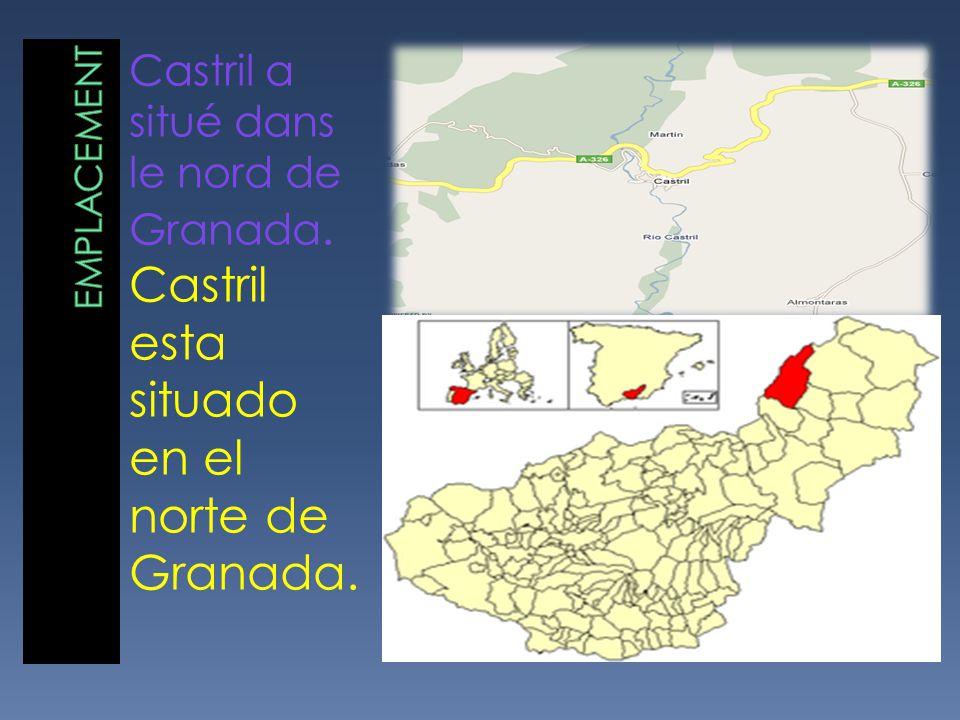 Castril esta situado en el norte de