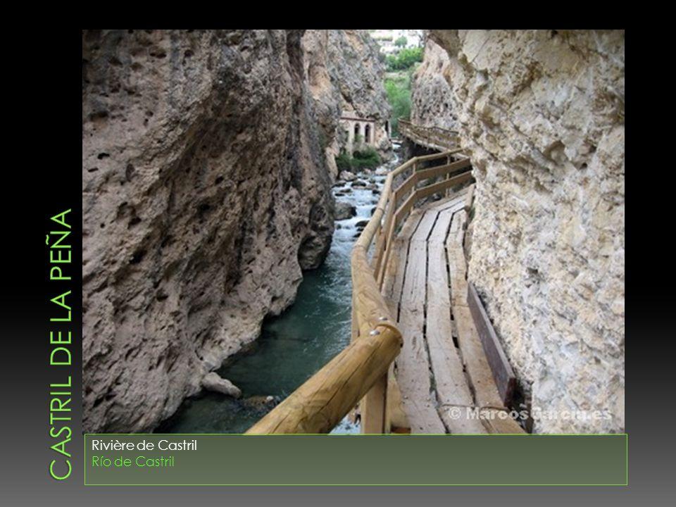 CASTRIL DE LA PEÑA Rivière de Castril Río de Castril