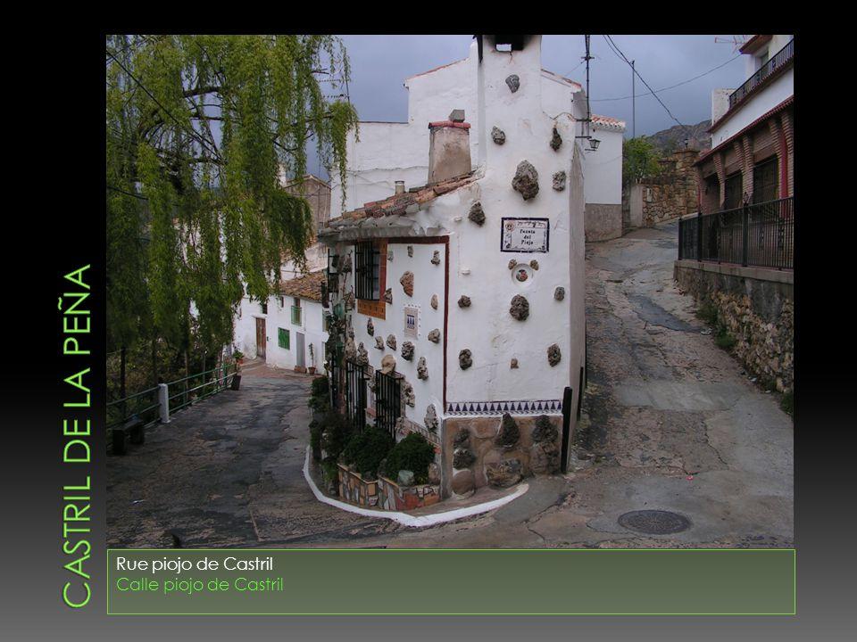Castril de la peña Rue piojo de Castril Calle piojo de Castril