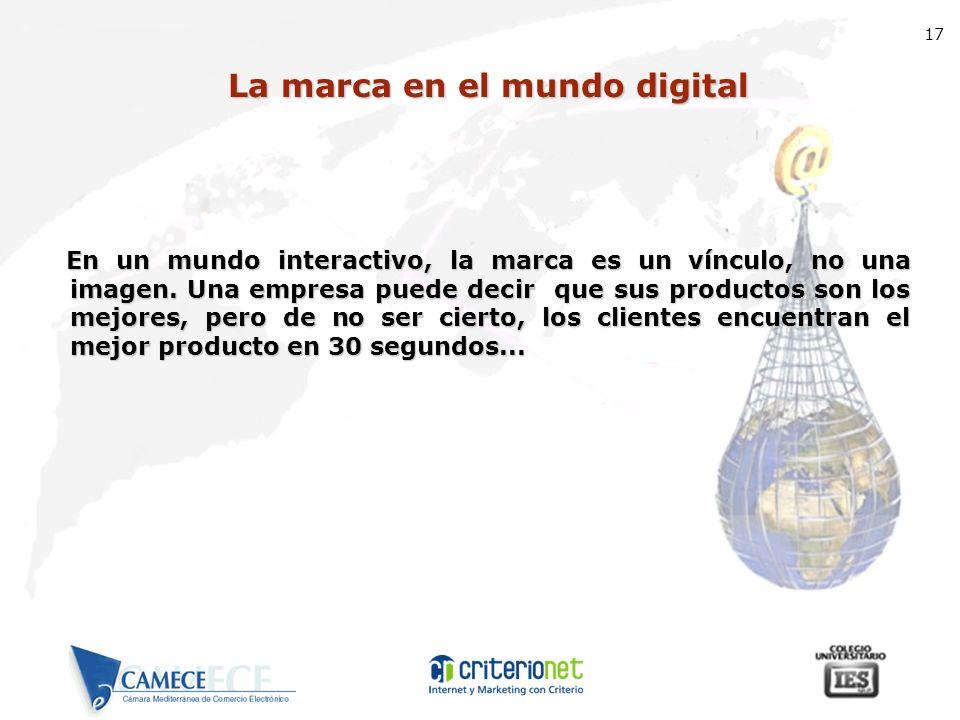 La marca en el mundo digital