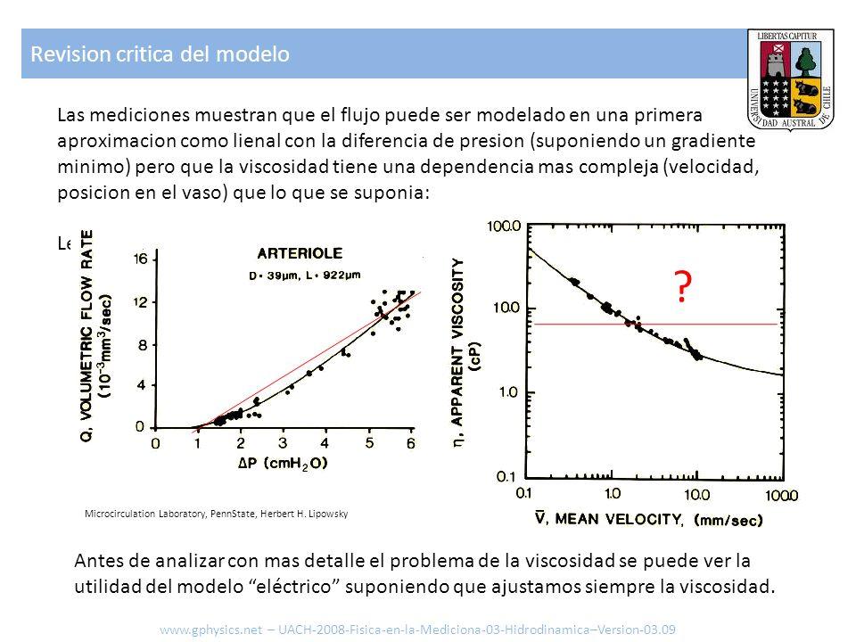 Revision critica del modelo