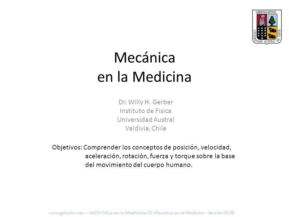 Mecánica en la Medicina