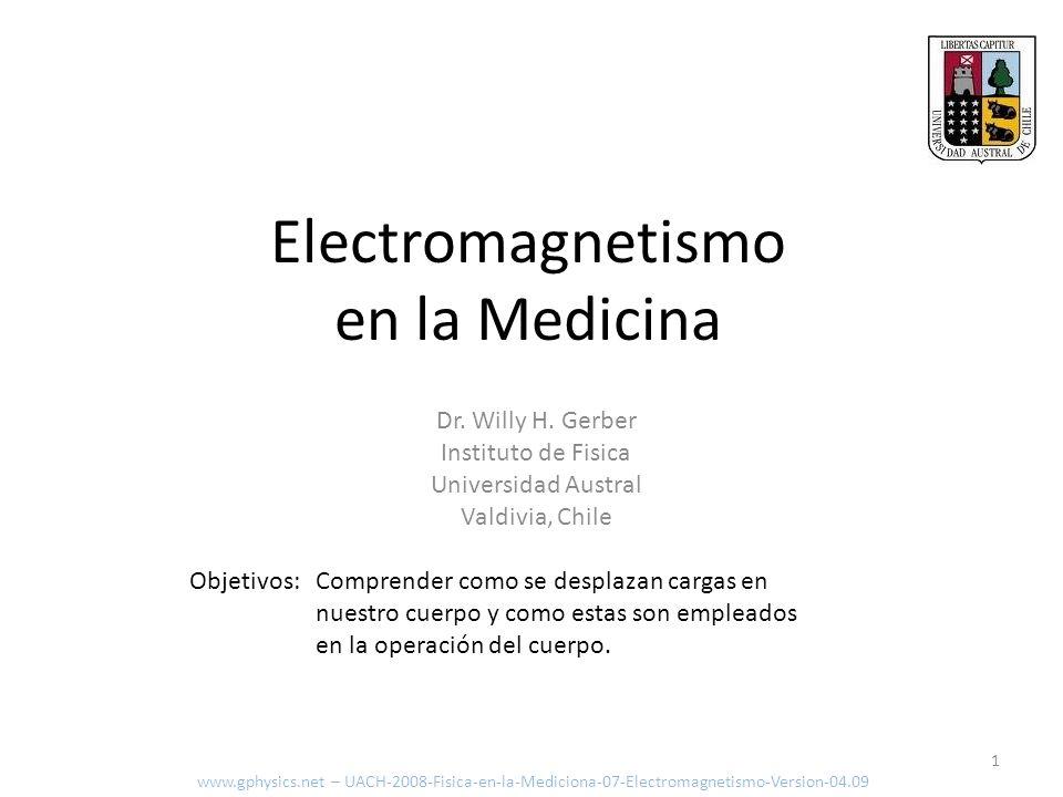 Electromagnetismo en la Medicina