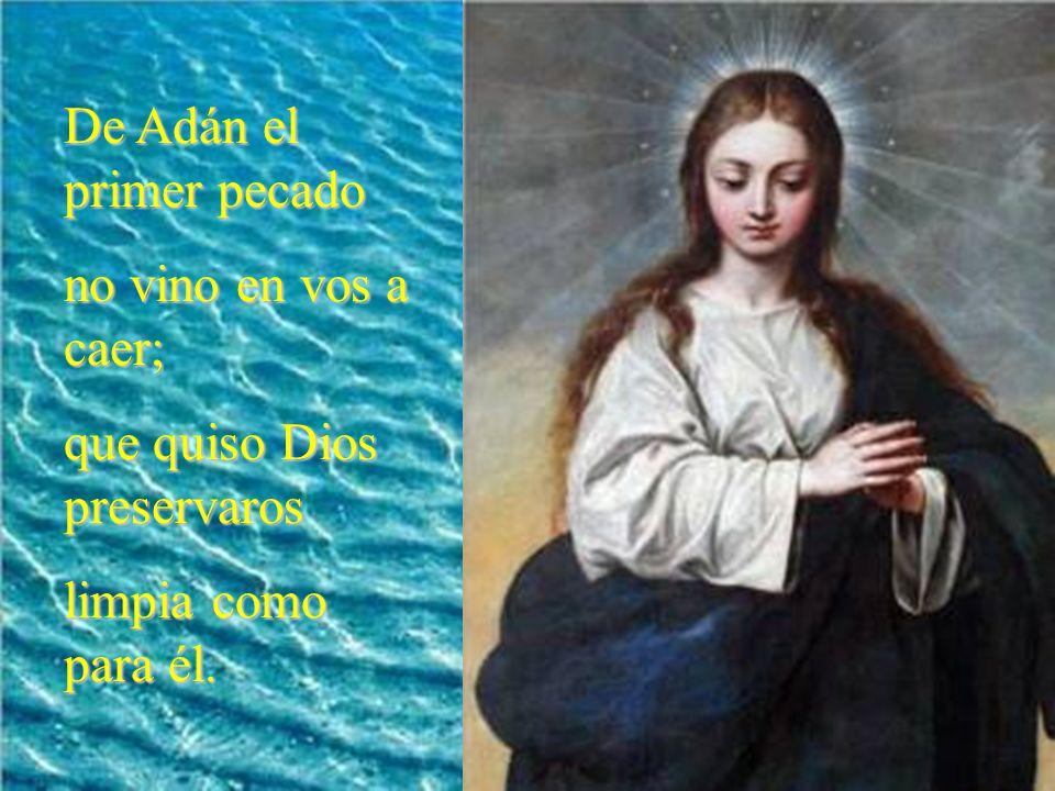 De Adán el primer pecado