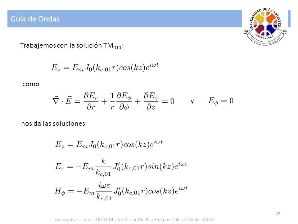 Guía de Ondas Trabajemos con la solución TM010: como y
