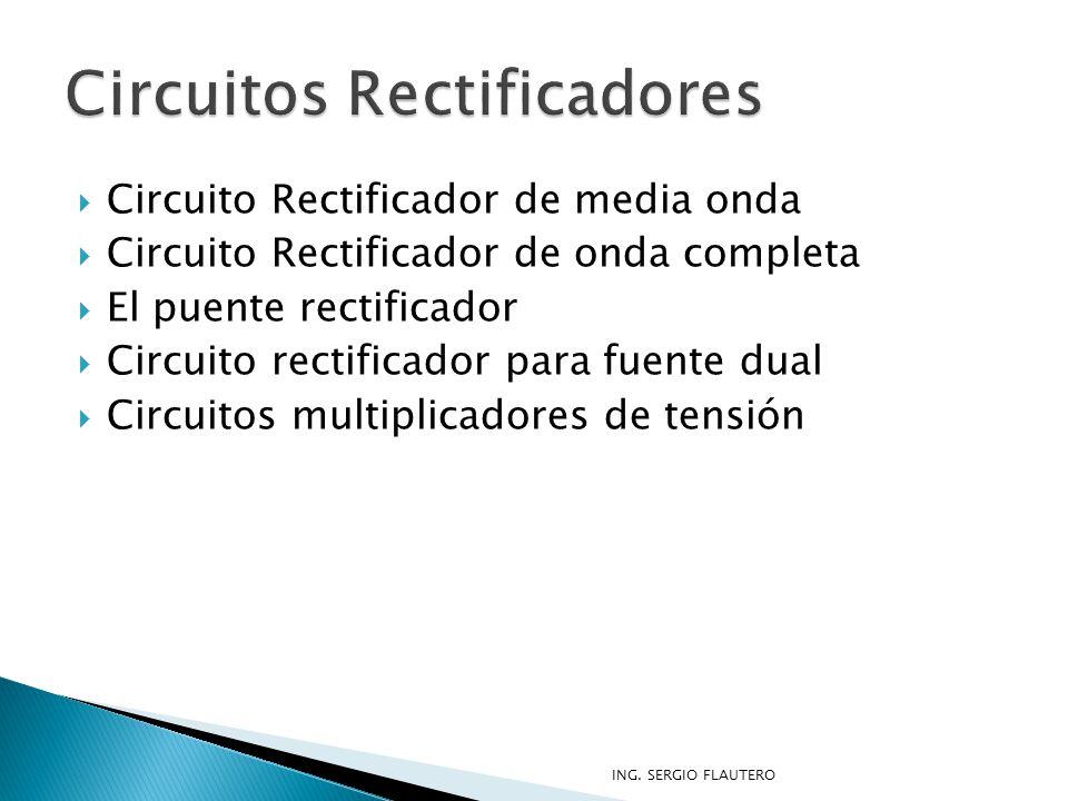 Circuitos Rectificadores