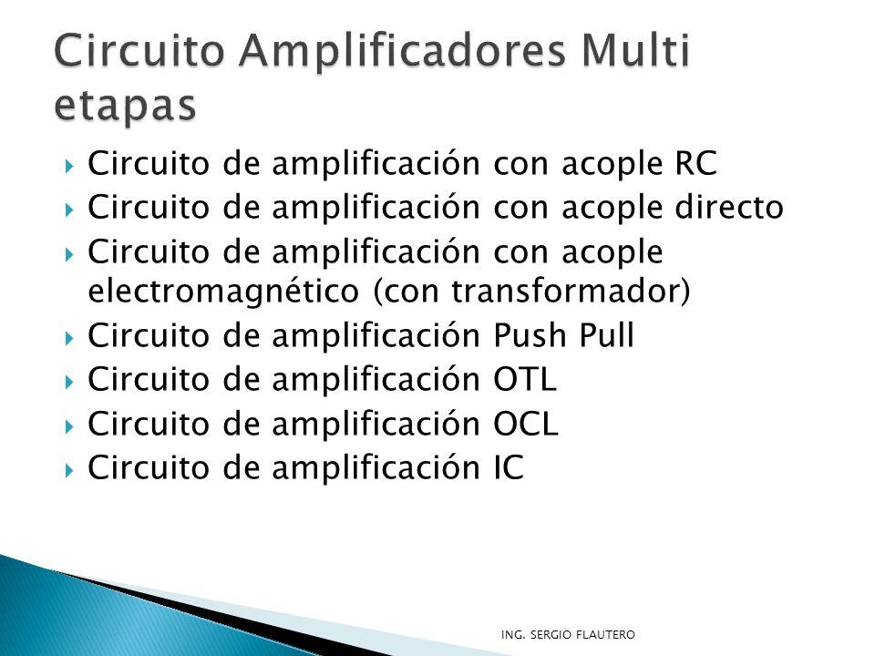 Circuito Amplificadores Multi etapas