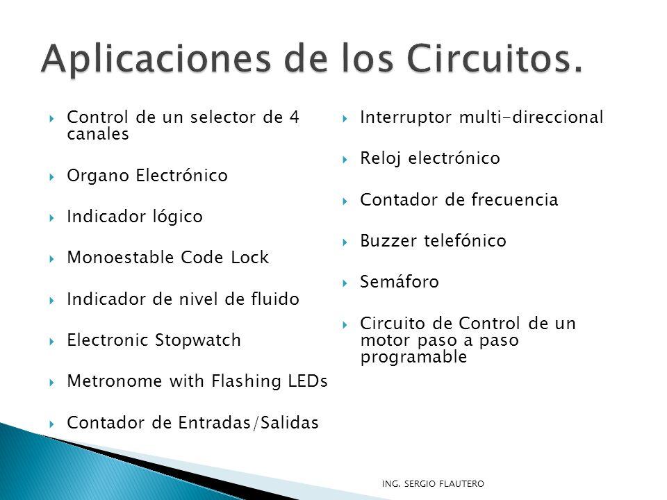 Aplicaciones de los Circuitos.