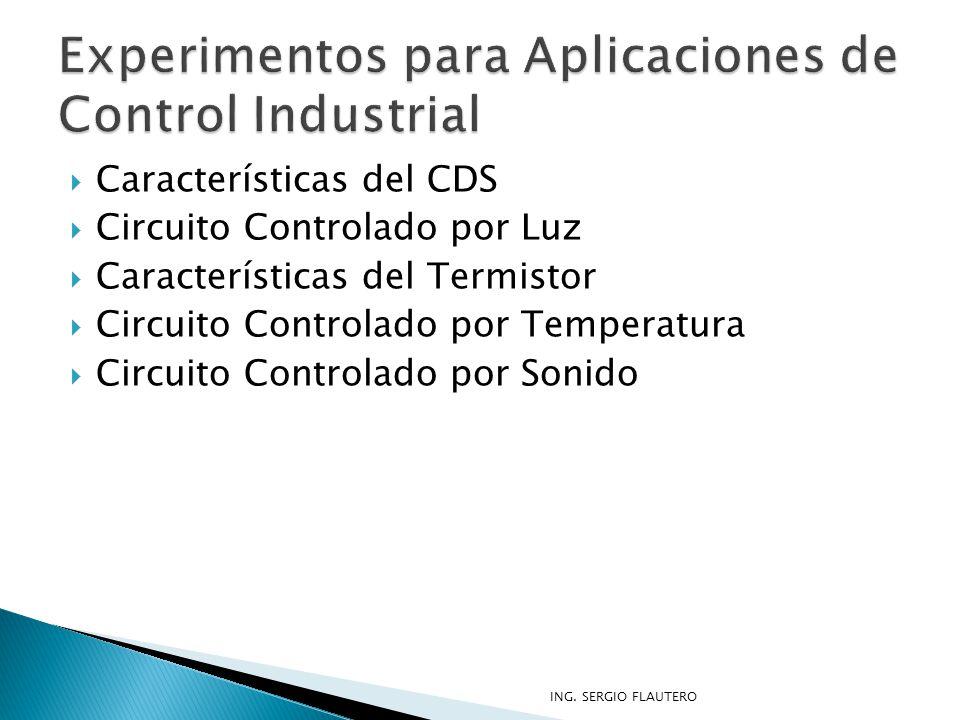 Experimentos para Aplicaciones de Control Industrial