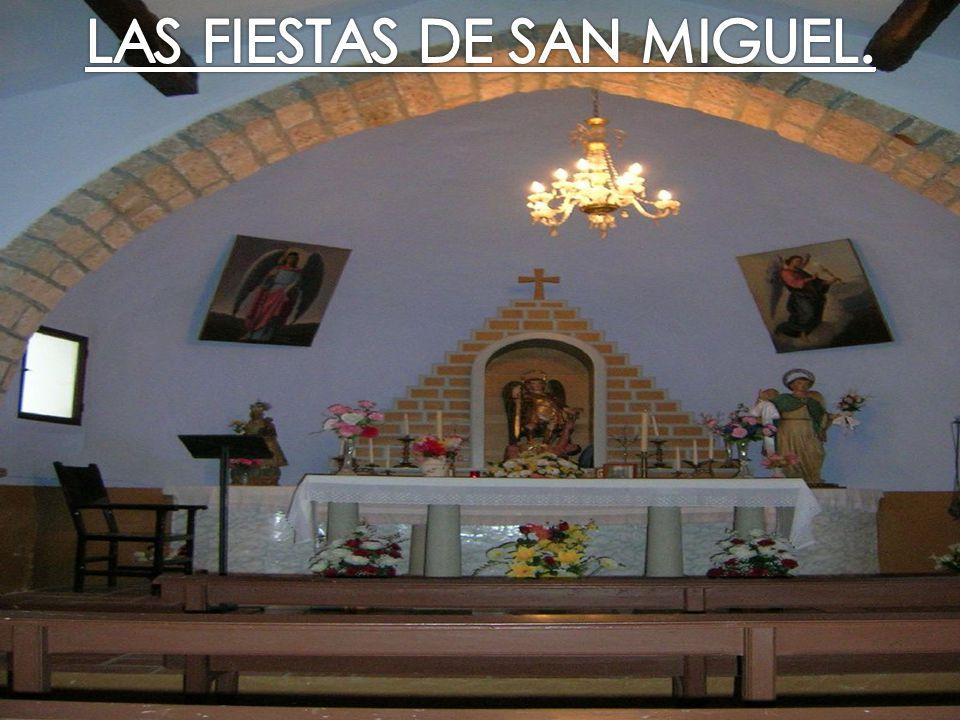 LAS FIESTAS DE SAN MIGUEL.