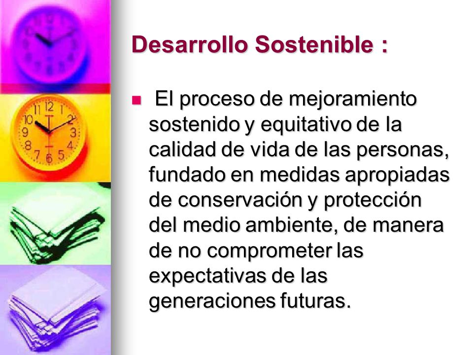 Desarrollo Sostenible :