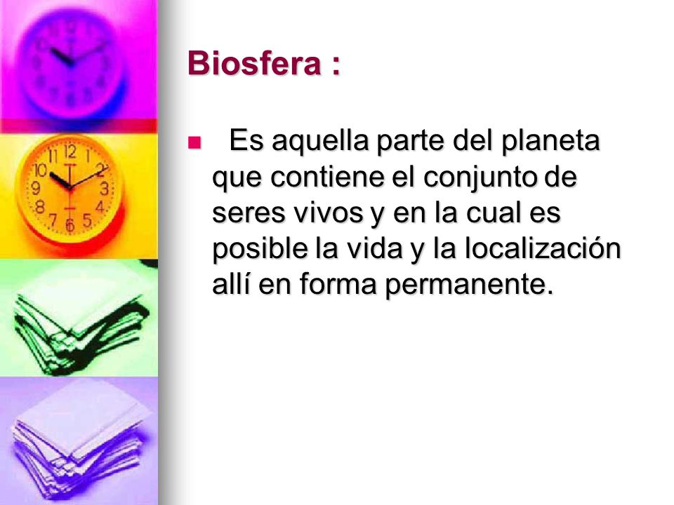 Biosfera :