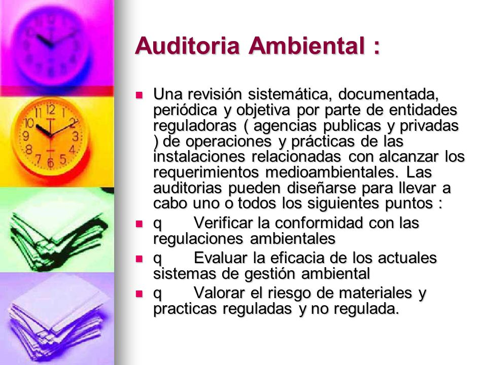 Auditoria Ambiental :