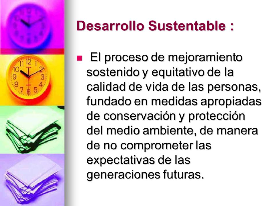 Desarrollo Sustentable :