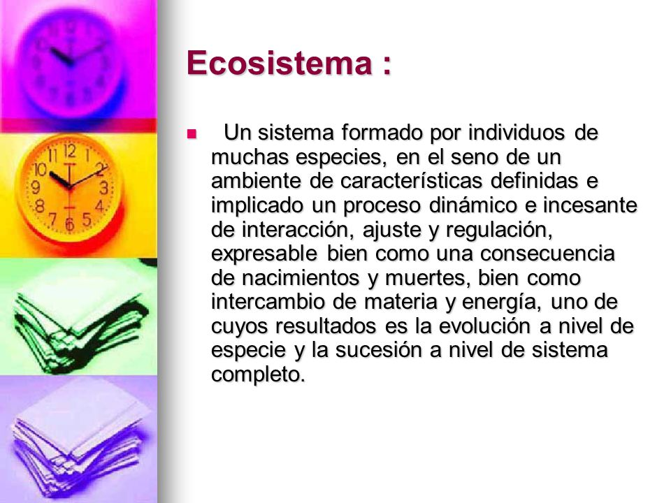 Ecosistema :