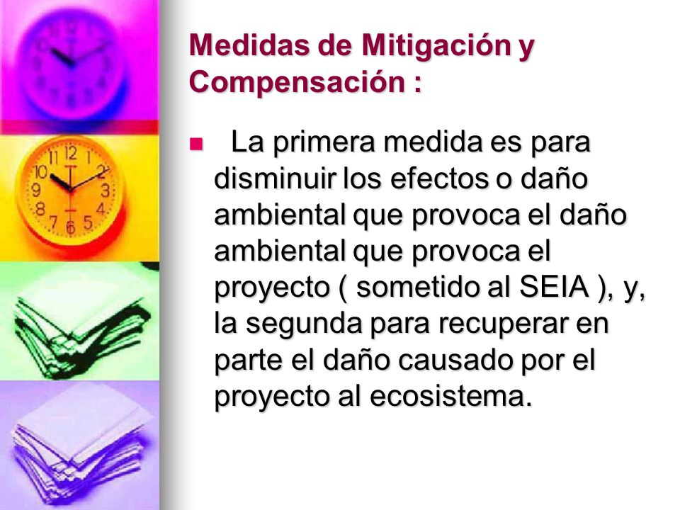 Medidas de Mitigación y Compensación :