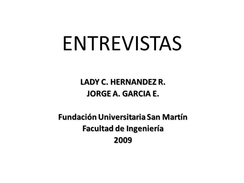 Fundación Universitaria San Martín Facultad de Ingeniería