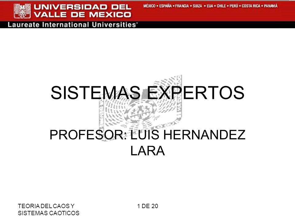 PROFESOR: LUIS HERNANDEZ LARA
