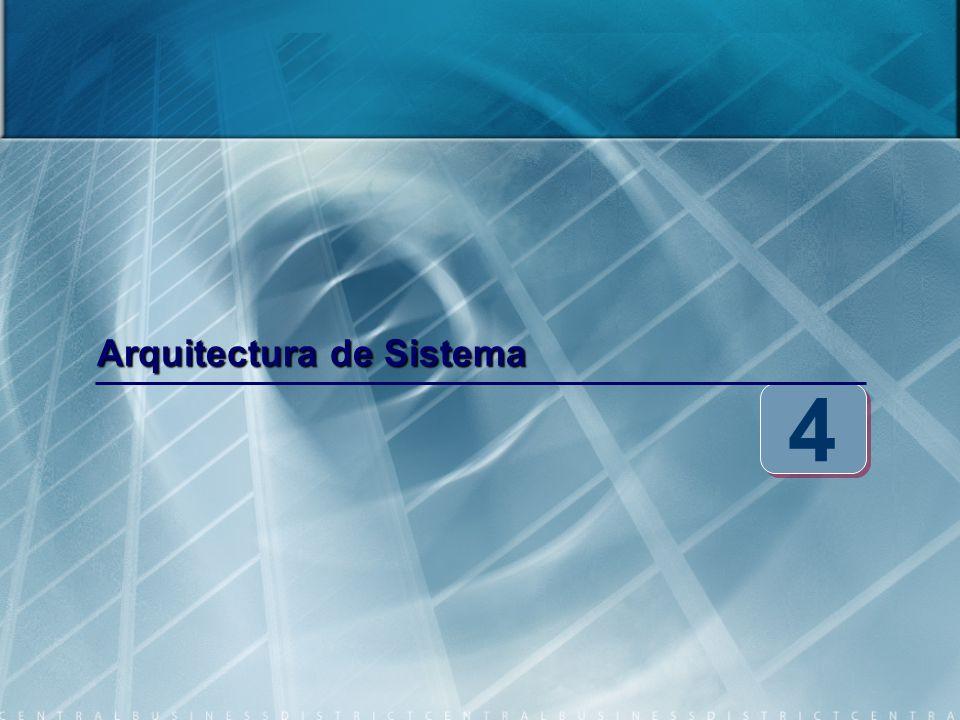 Arquitectura de Sistema