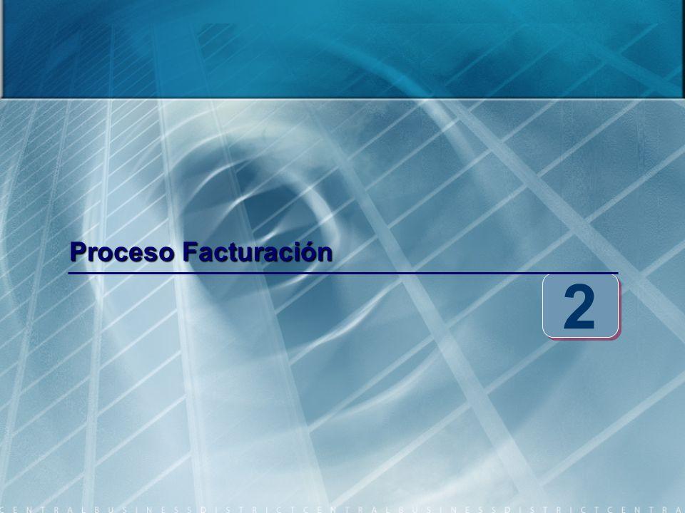 Proceso Facturación 2