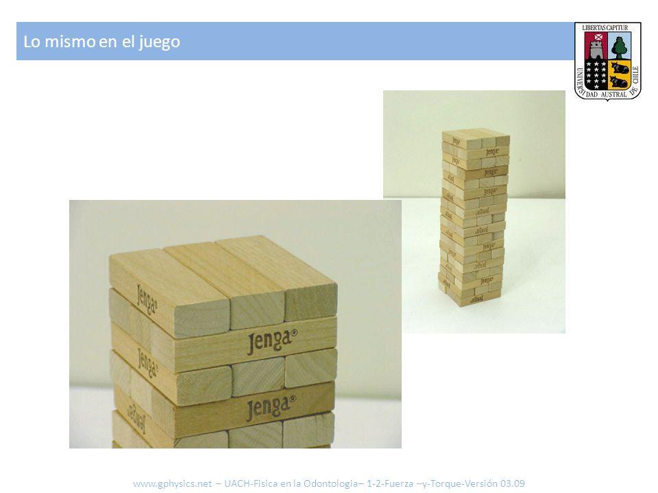 Lo mismo en el juego www.gphysics.net – UACH-Fisica en la Odontologia– 1-2-Fuerza –y-Torque-Versión 03.09.