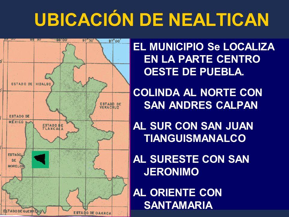 UBICACIÓN DE NEALTICAN