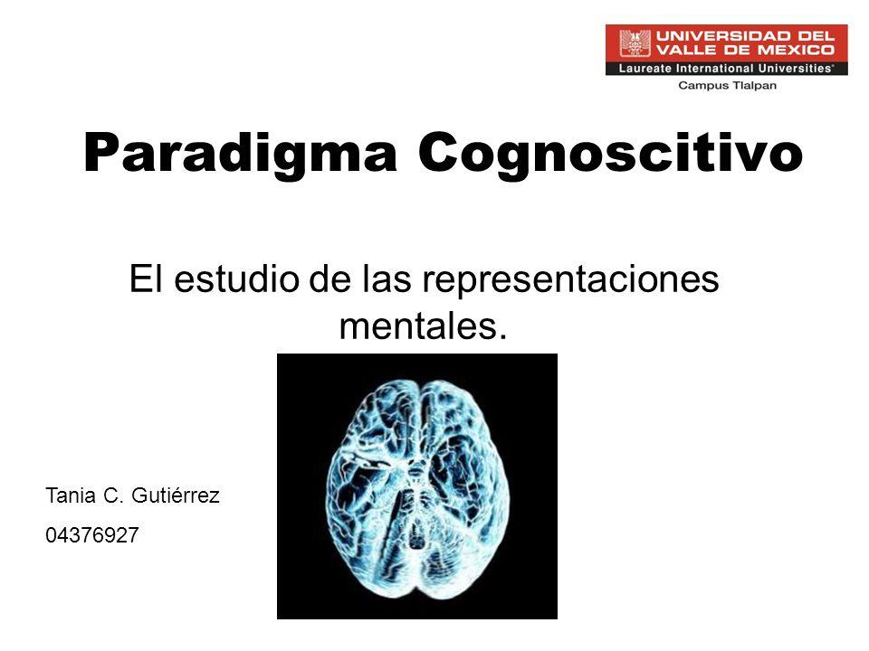 Paradigma Cognoscitivo
