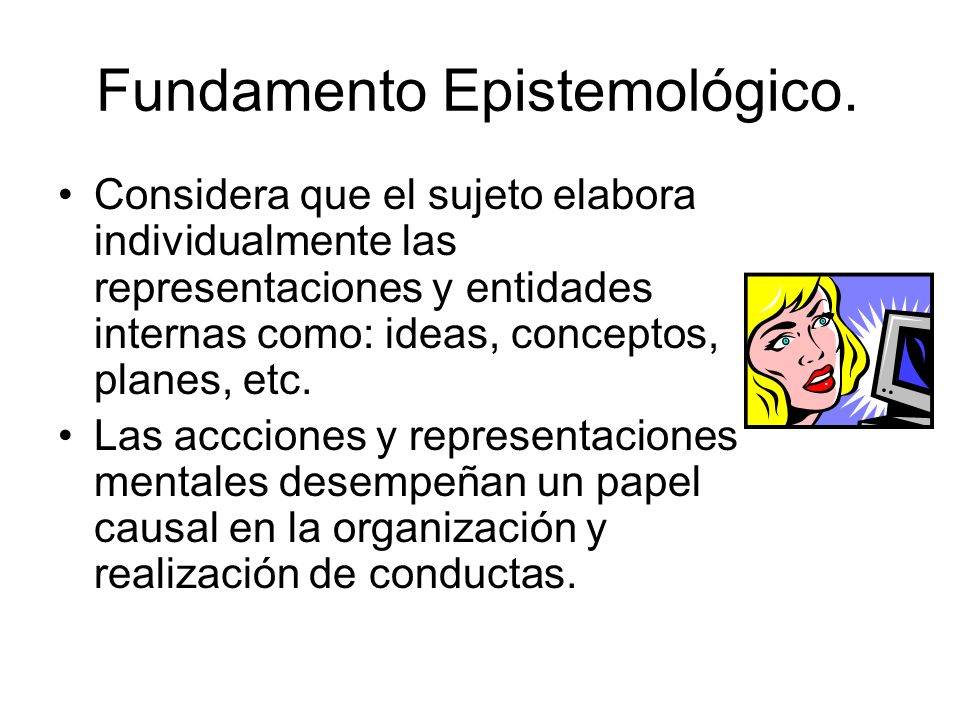 Fundamento Epistemológico.