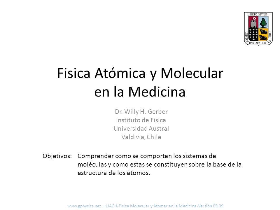 Fisica Atómica y Molecular en la Medicina