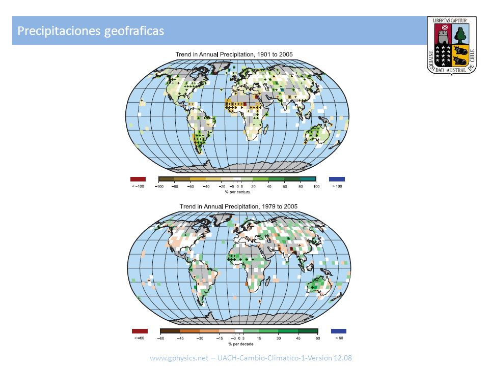 Precipitaciones geofraficas