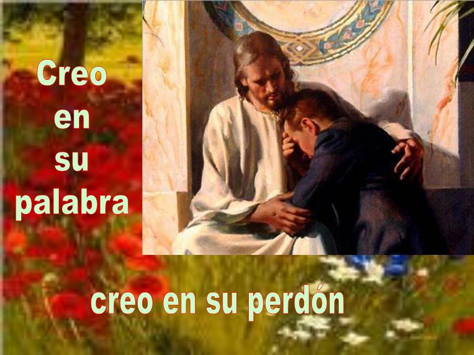 Creo en su palabra creo en su perdón