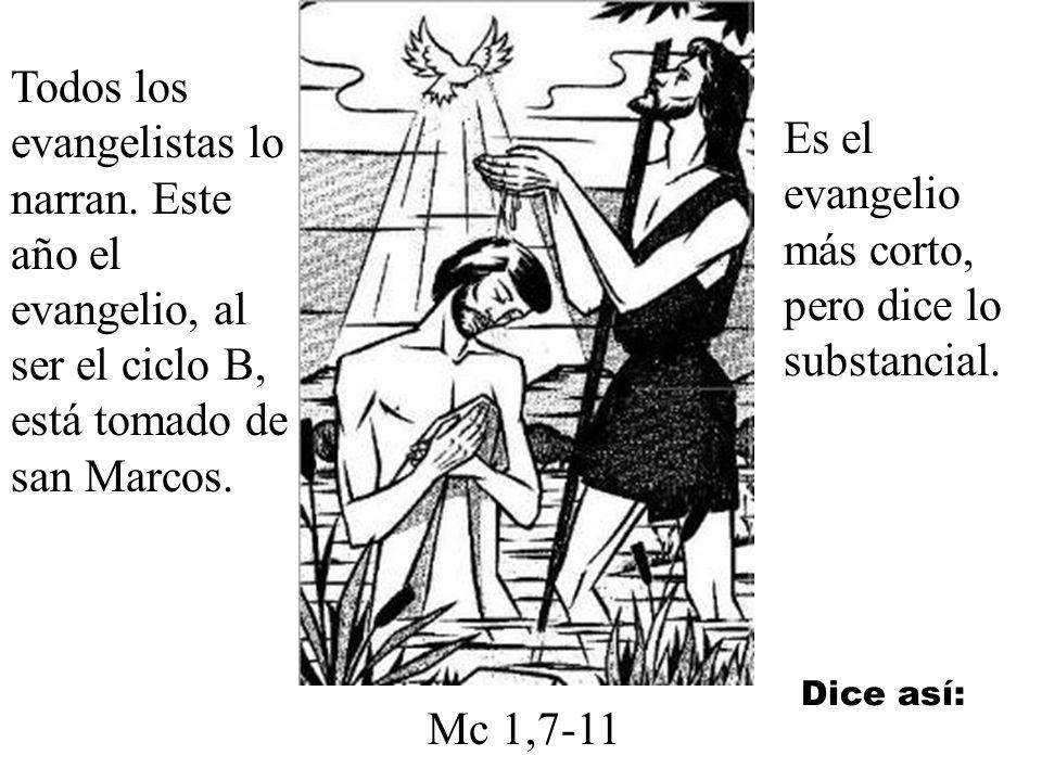 Es el evangelio más corto, pero dice lo substancial.