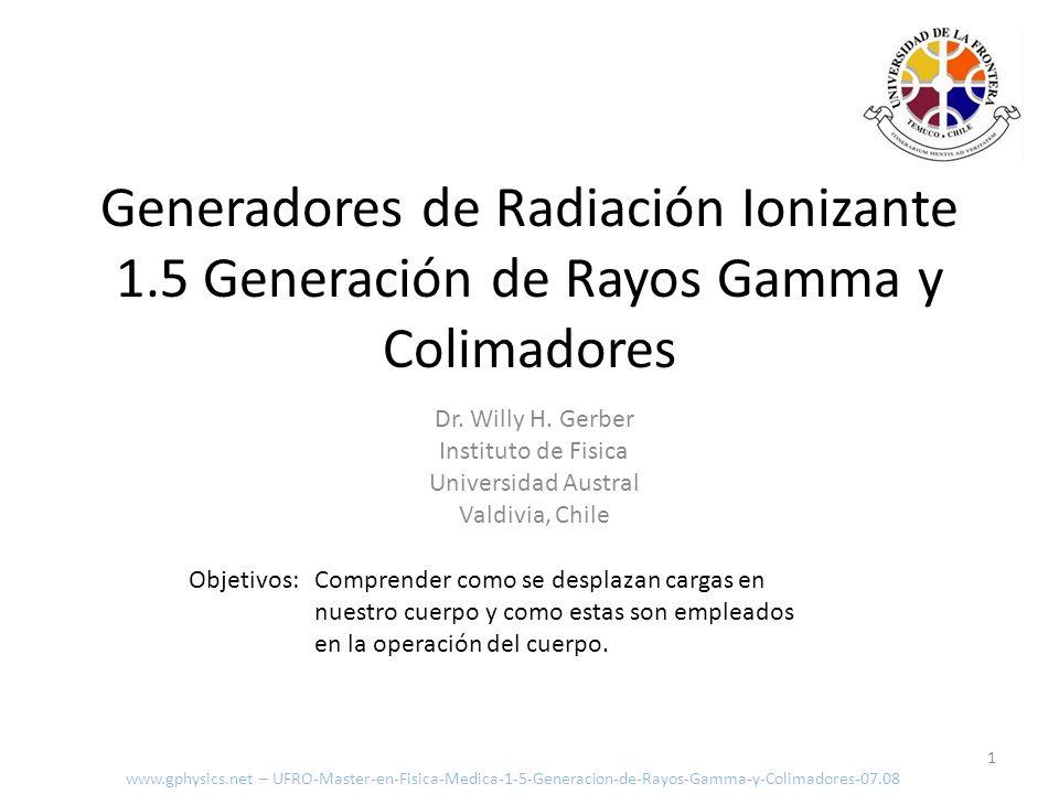 Generadores de Radiación Ionizante 1