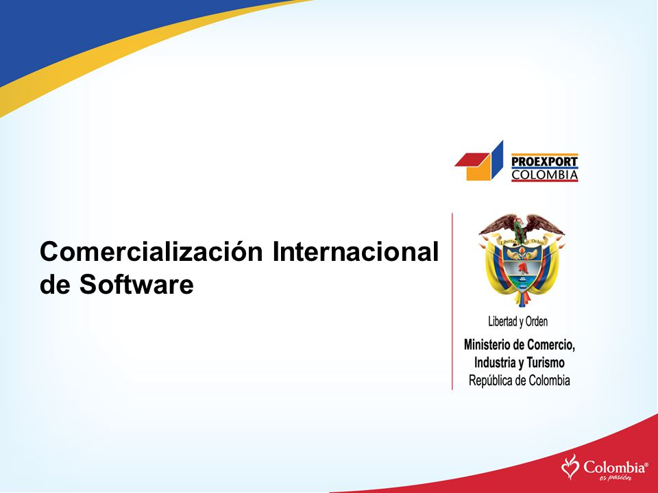 Comercialización Internacional de Software
