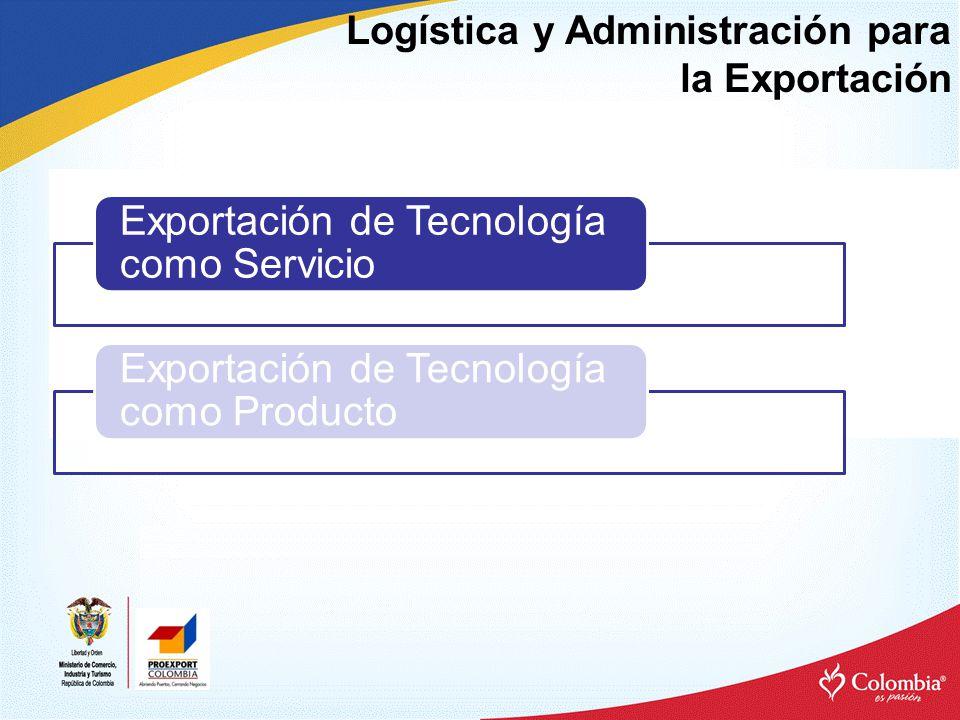 Logística y Administración para la Exportación