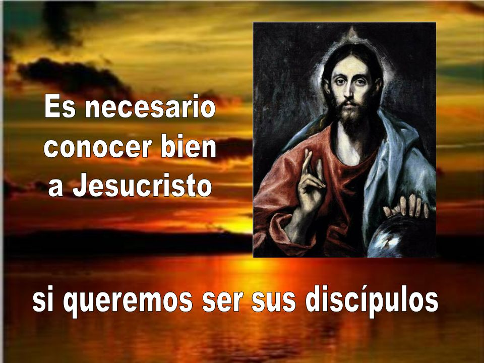 si queremos ser sus discípulos