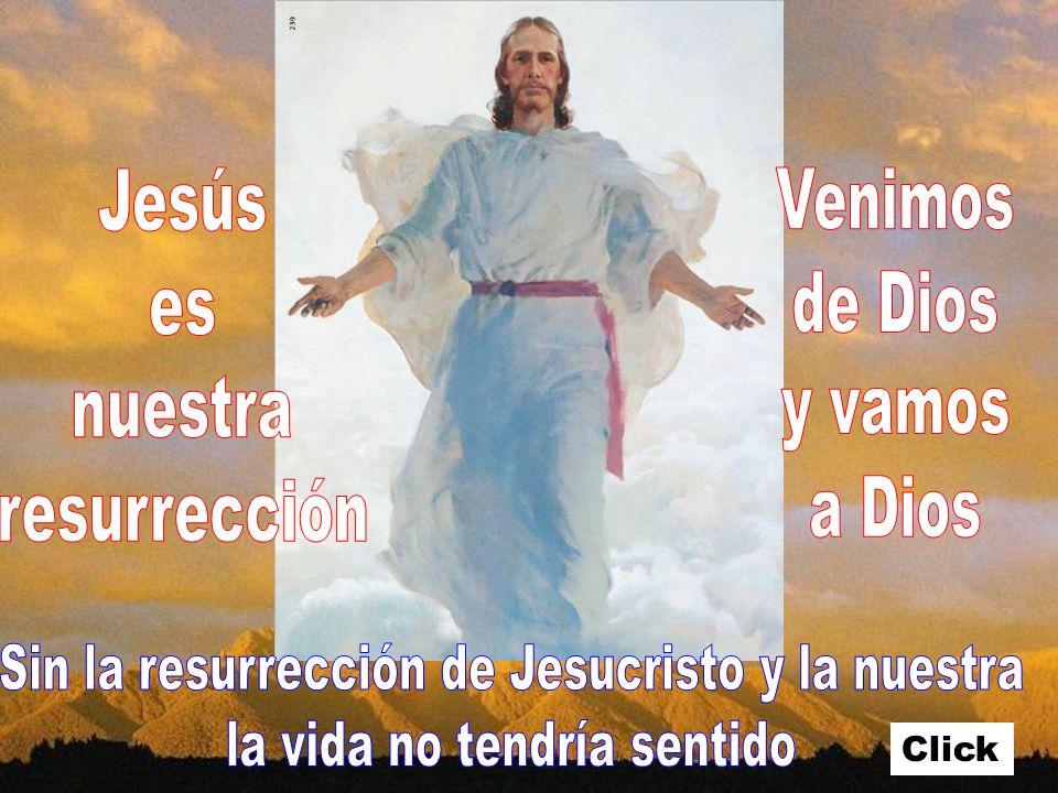 Sin la resurrección de Jesucristo y la nuestra