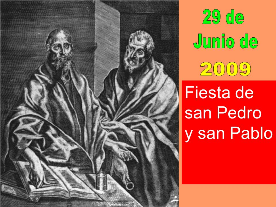 Fiesta de san Pedro y san Pablo