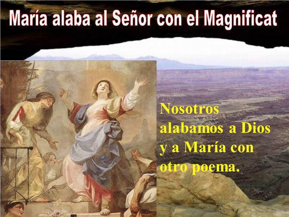 María alaba al Señor con el Magnificat