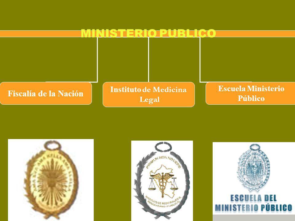 MINISTERIO PUBLICO Fiscalía de la Nación Instituto de Medicina