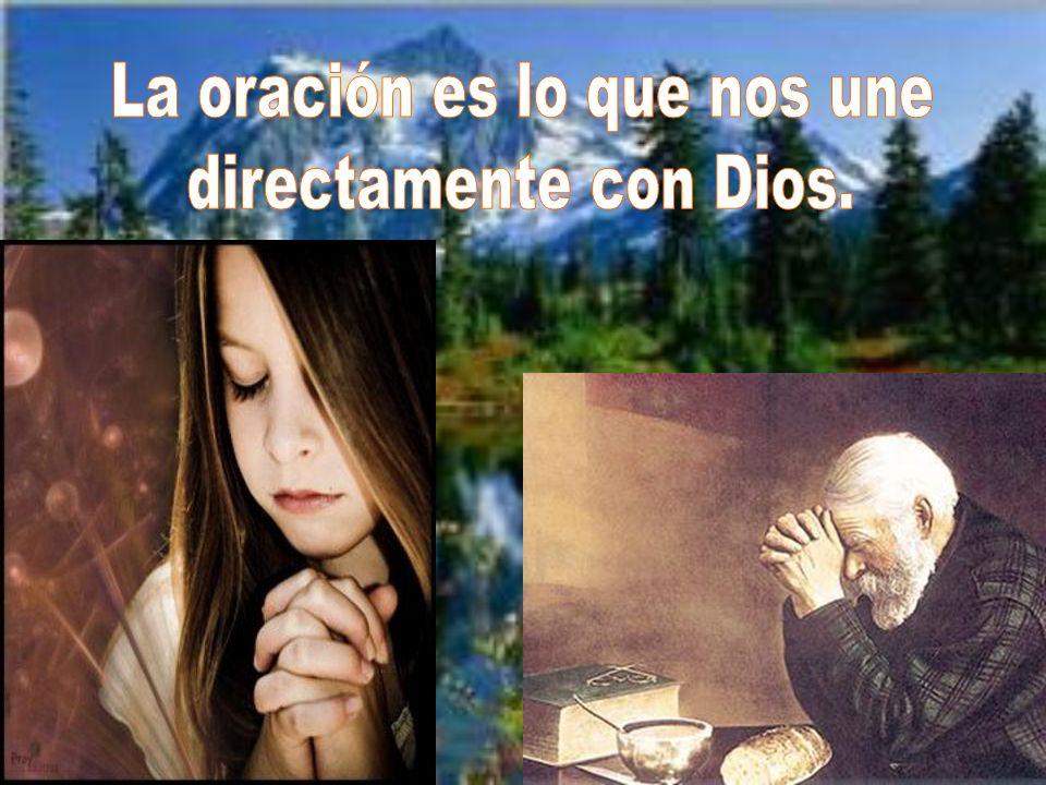 La oración es lo que nos une