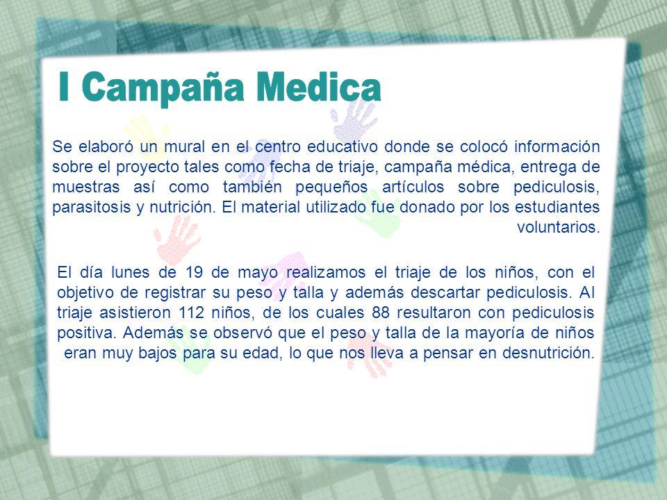 I Campaña Medica