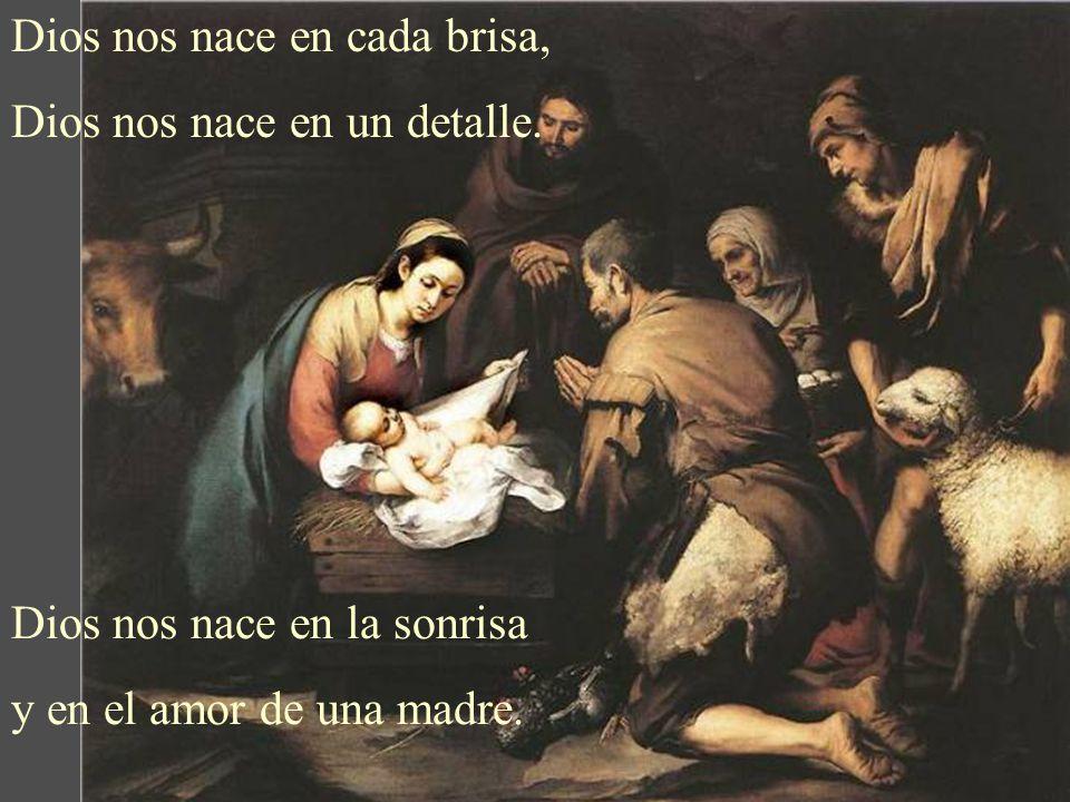 Dios nos nace en cada brisa,